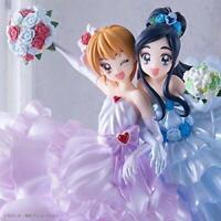HG Girls PreCure Pretty Cure Memorial Figure Nagisa & Honoka Set w/ Tracking NEW