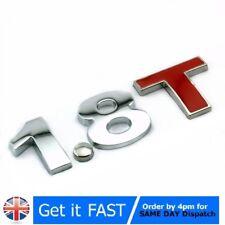 1.8 T Alloy Aluminium 3D Emblem Badge Sticker Decal For VW Ford Audi A4 A5 TT