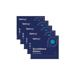 5 Stück Synology Kamera Lizenz - Device License Neu & OVP