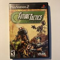 Future Tactics The Uprising PS2 Sony PlayStation 2 Video Game Complete & Tested