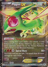 ~Pokemon Ultra Rare Holo Foil Flygon EX Card XY61 PROMO + Hard Sleeve - Fast!