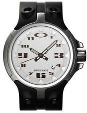 Oakley Watch Bottle Cap White Unobtainium Strap Edition Swiss Made SEE PICS