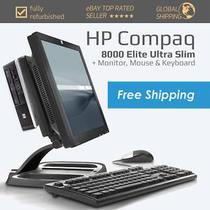 HP Casual Computing and Office PC Intel Core 2 Duo Optical Drive USB 2.0 VGA