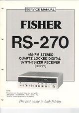 Fisher-rs-270 - Service Manual-Schéma pour émetteur-b6938