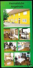 Prospekt, Heimatstube Angelroda, um 2000