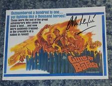 JOHN LEYTON- 5x7 PHOTO SIGNED- GUNS AT BATASI -Poster