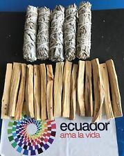 15 Palo Santo Wood & 5 White Sage Smudge Sticks: Cleansing Negativity Removal