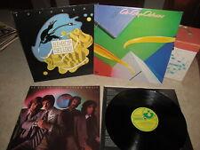 BE-BOP DELUXE Lot of 3 Vinyl LPs FUTURAMA, DRASTIC PLASTIC, MODERN MUSIC Harvest