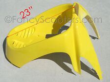 ROKETA,SUNL,BMX,PEACE SPORTS TPGS-808 150CC GAS SCOOTER FRONT FAIRING IN YELLOW