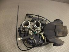 2002 aprilia RSV mille 1000 throttle bodies with injectors, cables and air box