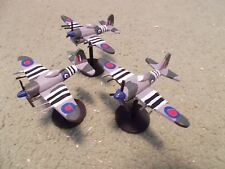 Flames of War 15mm, 1/144 Scale painted British TYPHOON Aircraft  (3)