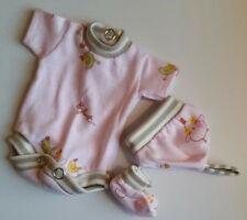 """onecie bodysuit  body/romperstyle  with hat and sox for 8"""" ooak doll baby"""