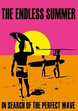 ENDLESS SUMMER MOVIE SURF BRUCE BROWN SURFING A3 ART PRINT POSTER YF5175