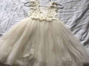Stunning Girls TuTu Princess Dress Age 3 From A Little Lacey Bridesmaid Worn Onc