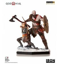God of War Deluxe Art. Échelle Statue 1/10 Kratos & Atreus 20 cm Iron Studios