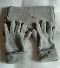 Ensemble écharpe + gants chiné