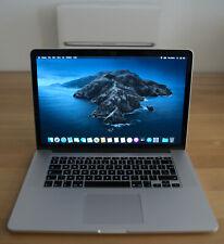 """Apple MacBook Pro Retina 15"""" / Quad-Core Intel i7 / 256GB SSD / macOS 2019"""