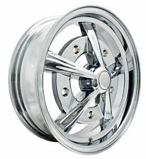 EMPI RAIDER ALL CHROME WHEEL 15X5  5X205, BUG GHIS BUS TYPE 2 9753