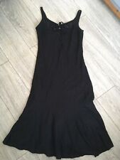 PLANET BLACK DRESS FULLY LINED 38 Bust approx (no size label) Cotton Mix Summer