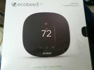 BRAND NEW ECOBEE ECOBEE3 LITE SMART WIFI THERMOSTAT - BLACK,Never Installed