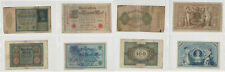 Germany Paper Money, Lot of 4 Bank Notes, Reichsbanfnote, (O)