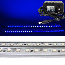 Kitchen Cabinet Shelf Counter LED Lighting Strip SMD Blue 50cm x 2 with 120V AC