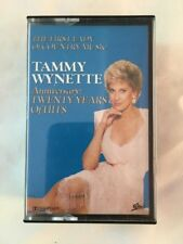 Tammy Wynette - 20 Years of Country Hits (2 tape set) - Cassette Tape (C172)