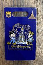 2021 Walt Disney World 50th Anniversary Celebration Castle Mickey Minnie Pin NEW