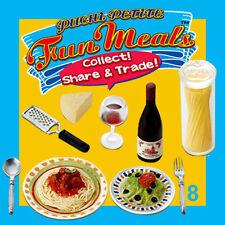 Rare! Re-ment Miniature Fun Meals No.8 Spaghetti and Meatballs