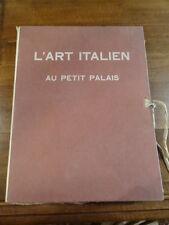 L'art italien au Petit Palais Peinture Gilles de la Tourette Tirage Limité