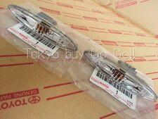 Lexus IS250 IS350 Clear Side Turn Signal Lamp Lens Pair NEW Genuine OEM Parts