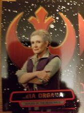 2016 Star Wars The Force Awakens Series 2 #1 Leia Organa Heroes of Resistance