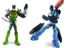 Batman Action Figures Set Power Attack Saw Slash & Power Deluxe Cyclone Kick