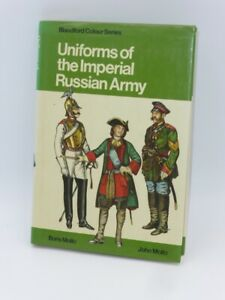 Uniforms of the Imperial Russian Army - Blandford Colour Series OOP