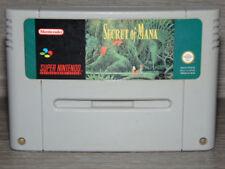Secret of Mana SNES Super Nintendo / version Pal.FRA / jeu en Loose