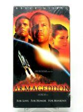 Armageddon (VHS, 1998) Armageddon VHS 1998 Cassette Tape Factory Sealed