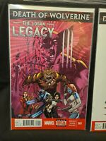 Death of Wolverine: the Logan Legacy #1-7 VF/NM complete series