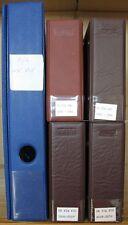 s927) UNO Wien 276 FDC plus 18 großformatige / Sammlung 1979 - 2010 in 5 Alben