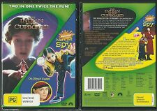 THE INDIAN IN THE CUPBOARD + HARRIET THE SPY TWO IN ONE TWICE THE FUN NEW 2 DVDS