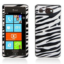 For AT&T Samsung Focus Flash HARD Protector Case Snap On Phone Cover Zebra