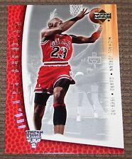 Michael Jordan 2001 Upper Deck MJ's Back 1989-90 Career High 69 points card