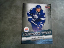 11-12 UD ULTIMATE TEAM INSERT CARD #12 DION PHANEUF