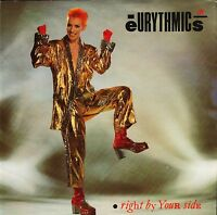 "THE EURYTHMICS right by your side DA4 uk rca 1983 7"" PS EX/EX"