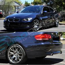 "BMW GTC Wheels Hyper Black 19"" GT-CR 3 Series E46 318 320 323 325 330 328"