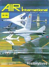 Air International V.8 N.3 F-111D F-14A Tomcat Panavia MRCA XF10F Jaguar P-47D