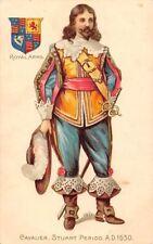 Cavalier, Stuart Period A.D. 1630, Royal Coat of Arms