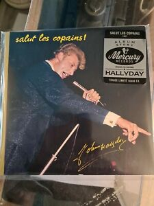 JOHNNY HALLYDAY (CD) SALUT LES COPAINS   TIRAGE LIMITE  Neuf sous blister