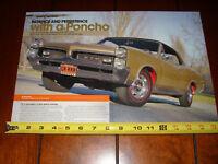 1967 PONTIAC GTO - ORIGINAL 2009 ARTICLE