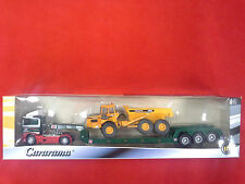 VOLVO FH12 WITH VOLVO A25C DUMP TRUCK 1:50 CARARAMA . NEW IN BOX.