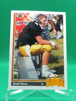 1991 Upper Deck #13 Brett Favre HOF ROOKIE MINT Green Bay Packers